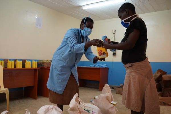 Kariobangi Food Distribution-5