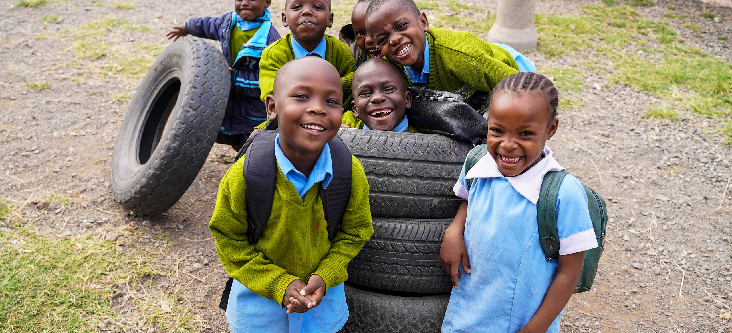 MOHI Sponsored Children Smiling